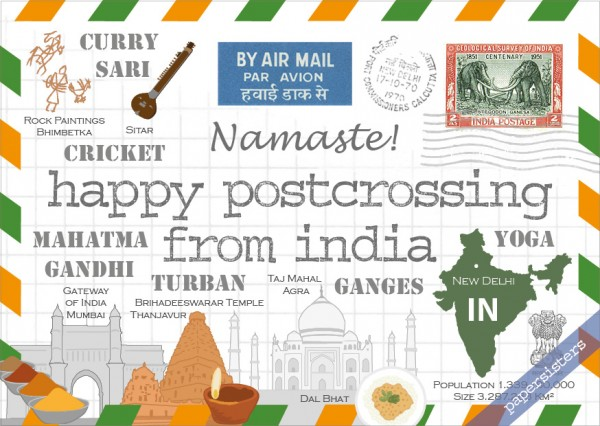 Happy Postcrossing IN