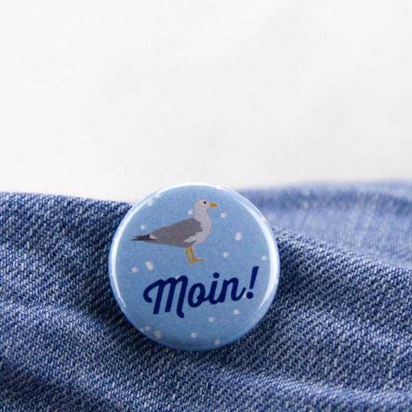 """Button """"Moin"""""""