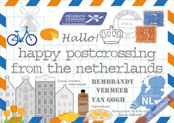 Happy Postcrossing NL