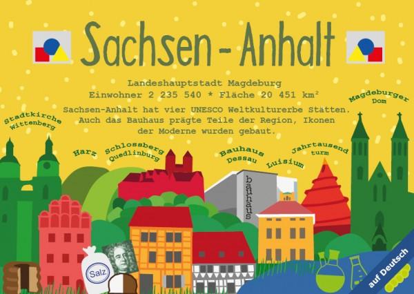 Sachsen-Anhalt - German Landmark Series