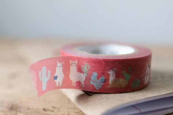 mt masking tape ex cheeky little llama
