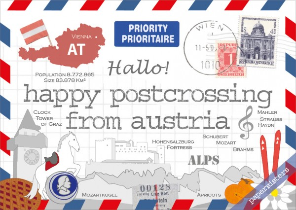 Happy Postcrossing AT