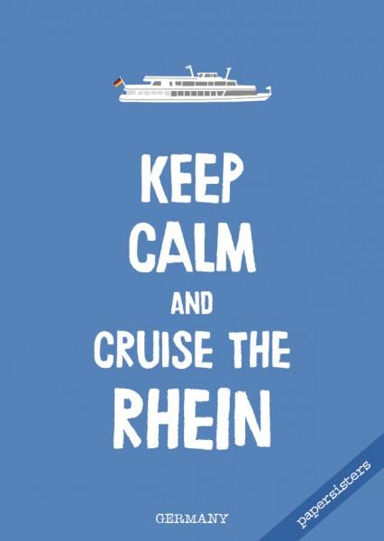 Keep calm Rhein - No.3