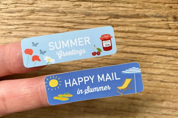 Summer Mail Sticker Set 60 Stück