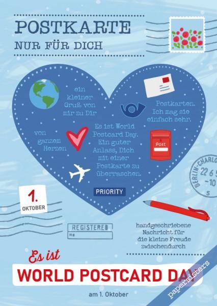 Es ist World Postcard Day