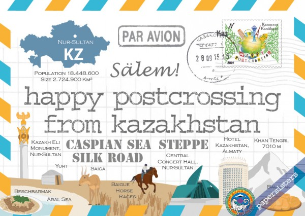 Happy Postcrossing KZ