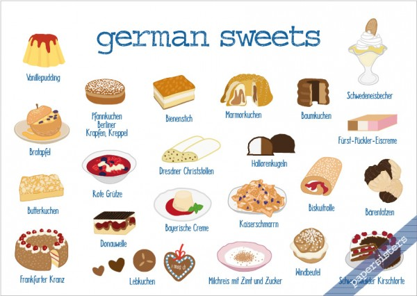 German Sweets