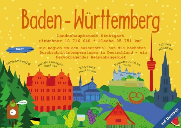 Baden-Württemberg - German Landmark Series