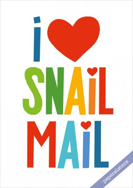 I love Snailmail