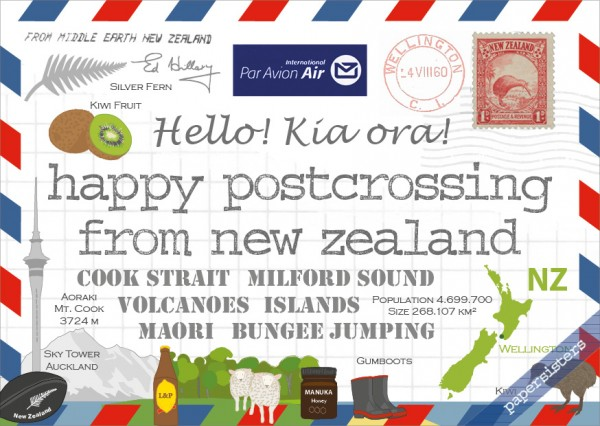 Happy Postcrossing NZ