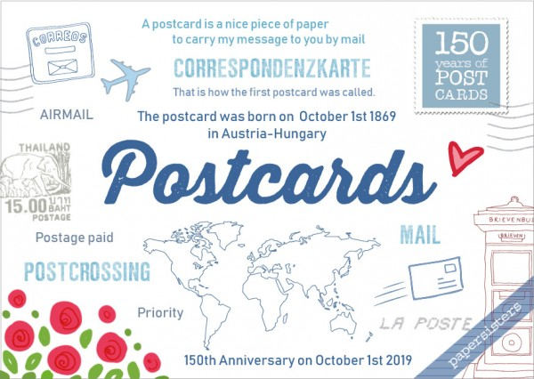 150 Years of Postcards - Limited Edition