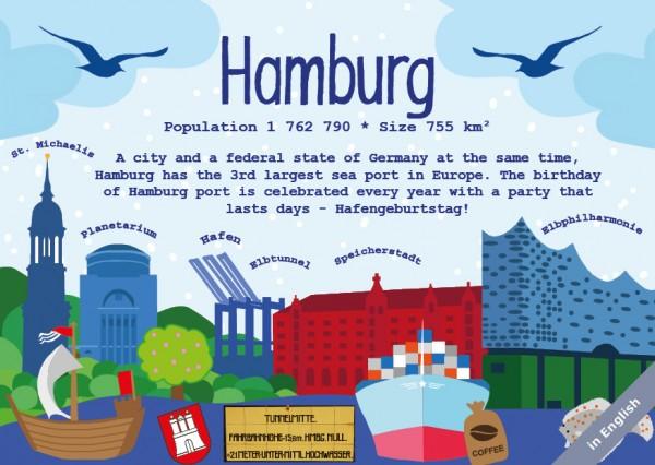 Hamburg - German Landmark Series