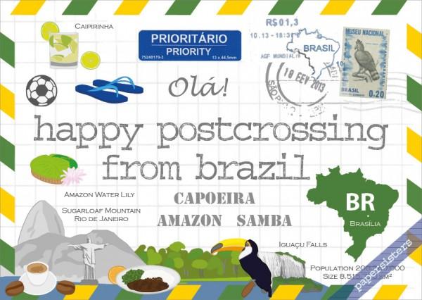 Happy Postcrossing BR