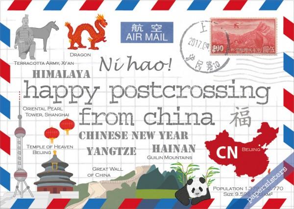 Happy Postcrossing CN