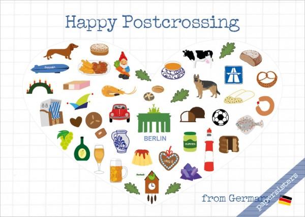 Postcrossing Greetings Germany