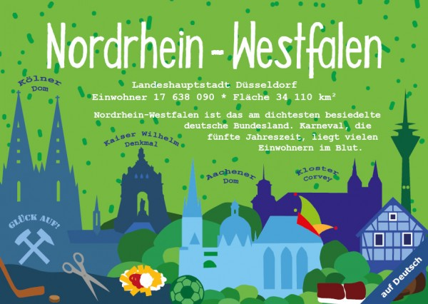 Nordrhein-Westfalen - German Landmark Series