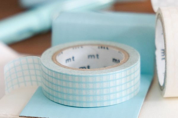 mt masking tape DECO hougan mint blue