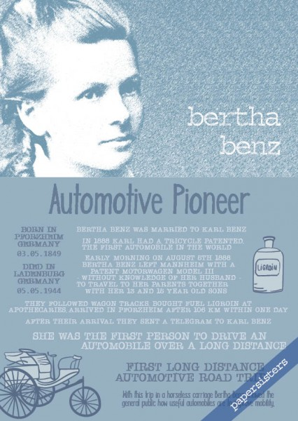 Bertha Benz * Women *