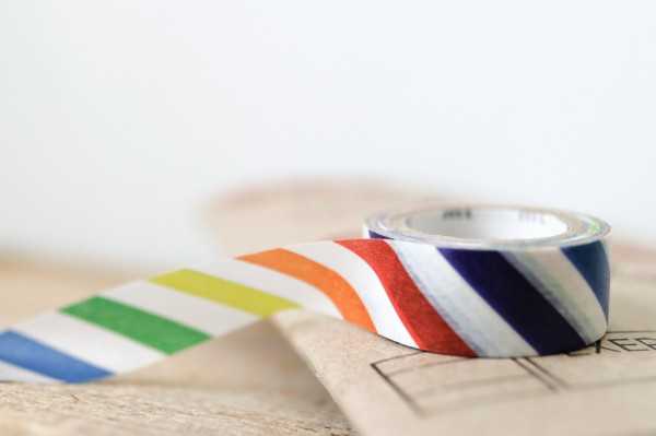 mt masking tape for kids colorful stripe