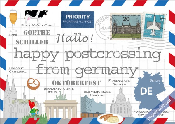 Happy Postcrossing DE - 3rd Edition