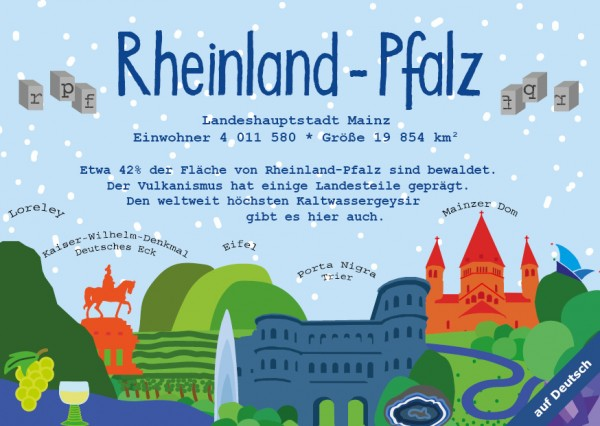 Rheinland-Pfalz - German Landmark Series