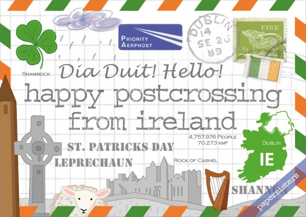 Happy Postcrossing IE