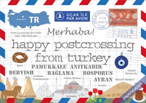 Happy Postcrossing TR
