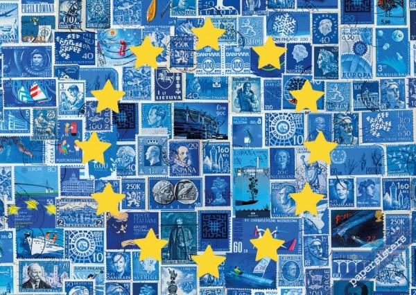Europe Stamp Flag