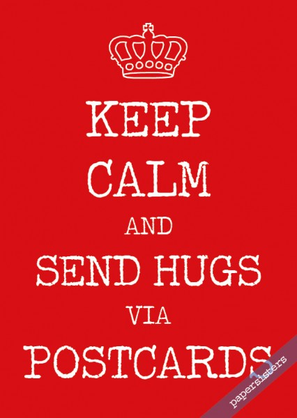 Keep calm Hugs