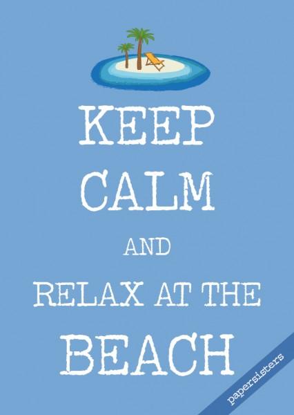 Keep calm Beach