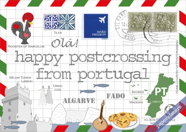 Happy Postcrossing PT
