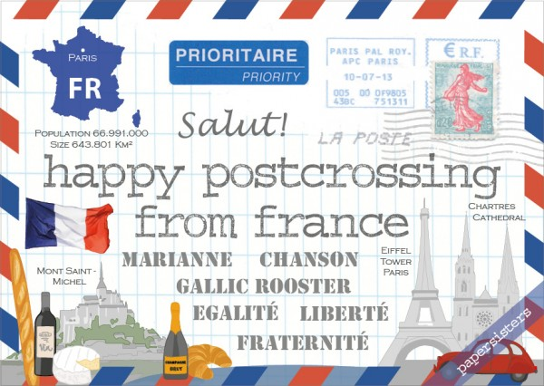 Happy Postcrossing FR