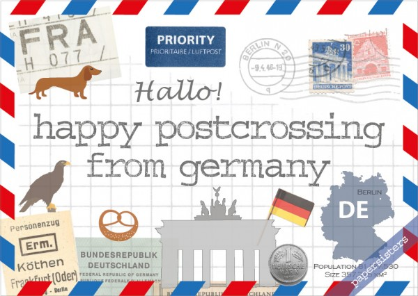 Happy Postcrossing DE