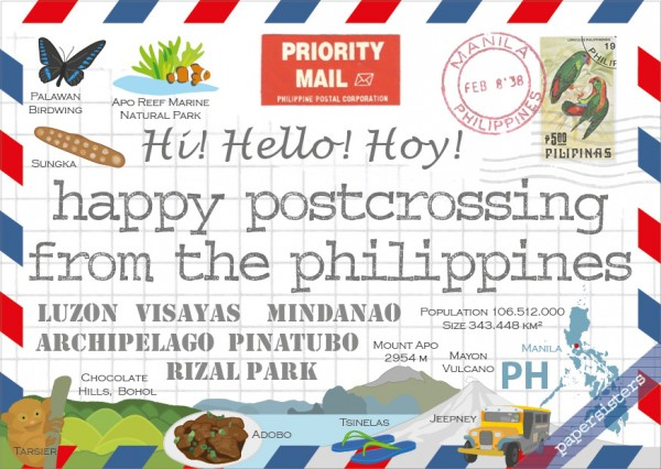 Happy Postcrossing PH