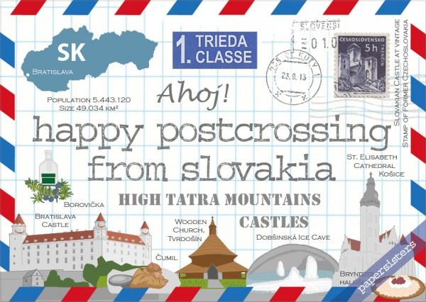 Happy Postcrossing SK