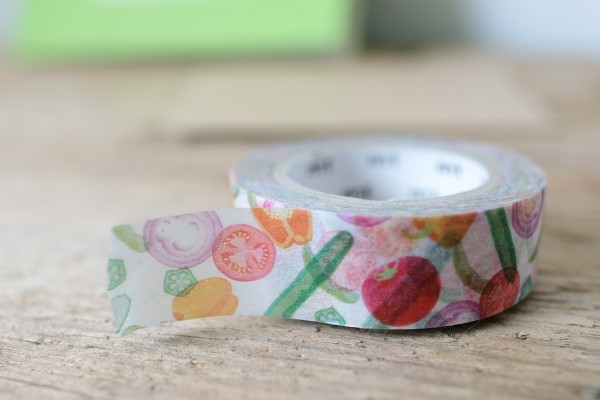 mt masking tape ex summer vegetable